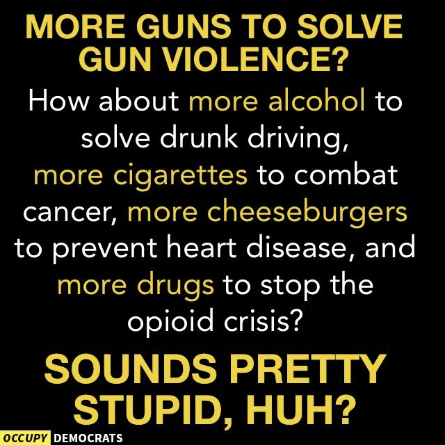 Other than hunting, why do we need guns for?