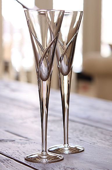 waterford siren flute - Waterford Champagne Flutes