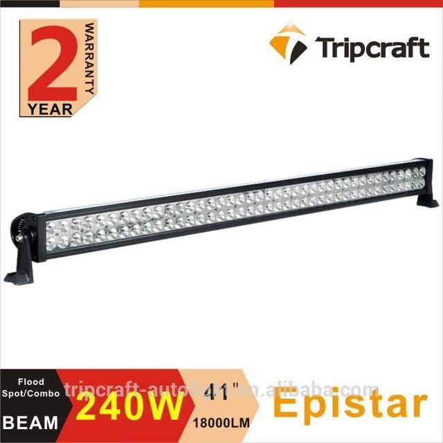 wholesale offroad led light bar 240w spot/flood/Combo Beam off road led bar