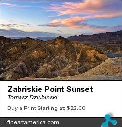 Zabriskie Point Sunset