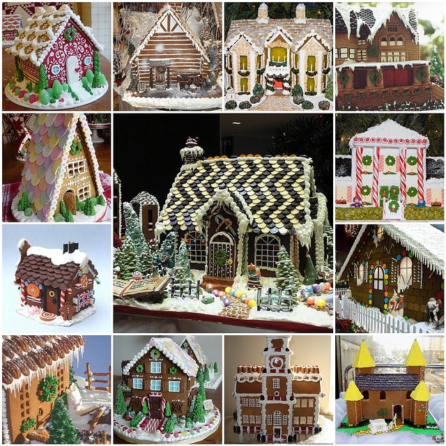 342 best gingerbread house inspiration images on pinterest for Gingerbread house inspiration
