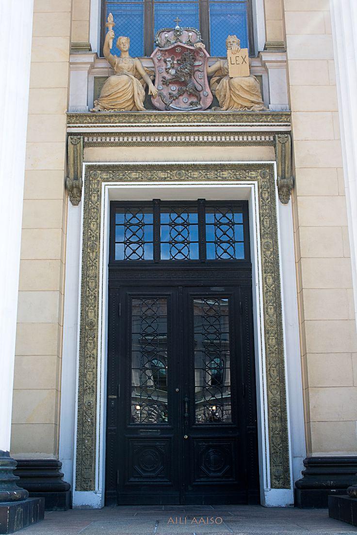 Säätytalo, Ständerhuse,  Maison des États, House of the Estates , Helsinki by Aili Alaiso