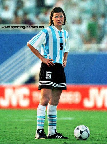 Fernando Redondo - Argentina - FIFA Copa del Mundo 1994                                                                                                                                                     Más