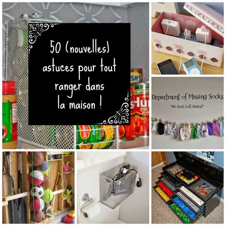 HOME & GARDEN: 50 (nouvelles) astuces pour tout ranger dans la ma...