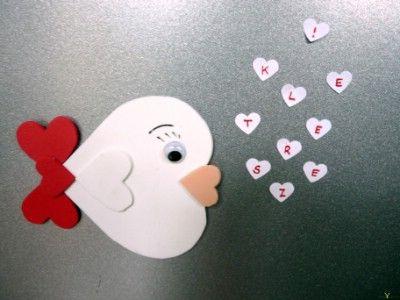 Valentin napi halacska hűtőmágnes   http://www.hobbycenter.hu/Unnepek/kreativ-oetlet-valentin-napi-halacska-htmagnes.html
