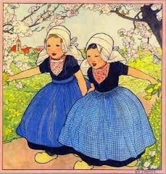 Rie Cramer (1887-1977) was a Dutch children's book illustrator. She moved to the Netherlands from Indonesia when she was nine years old, and studied at the Art Academy in the Hague.