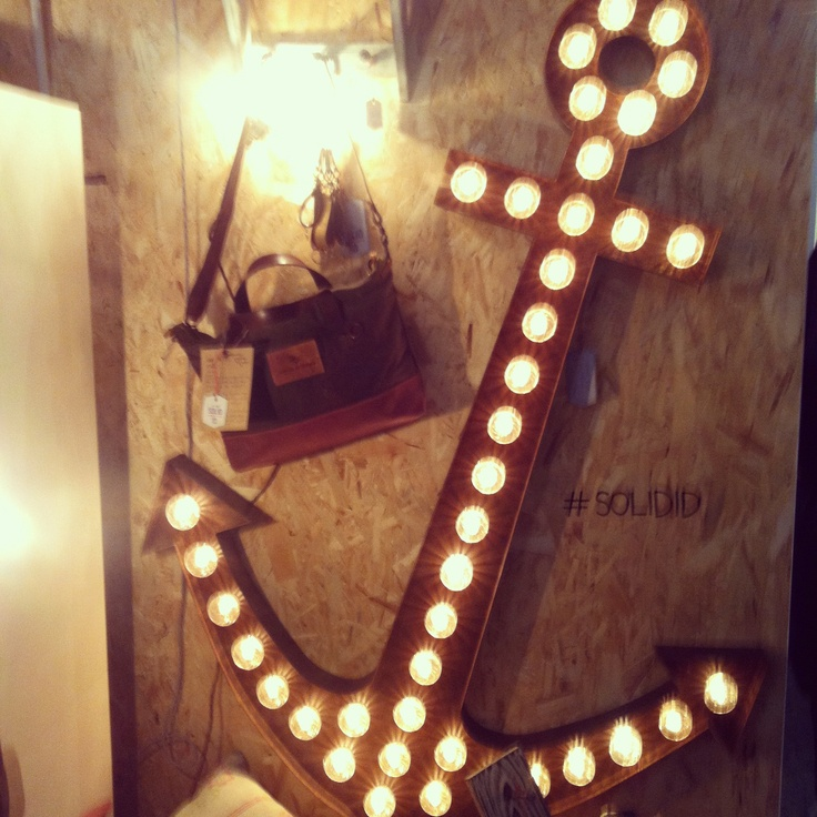 Great light sign by Solid ID at designjunction