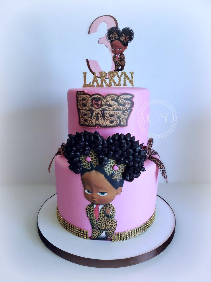 Boss baby cake baby birthday party girl baby girl cakes