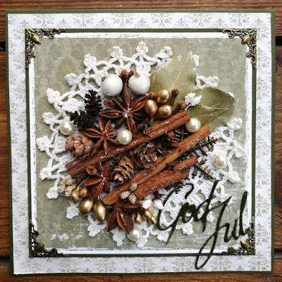 made by Annelie...: Jul med krydda