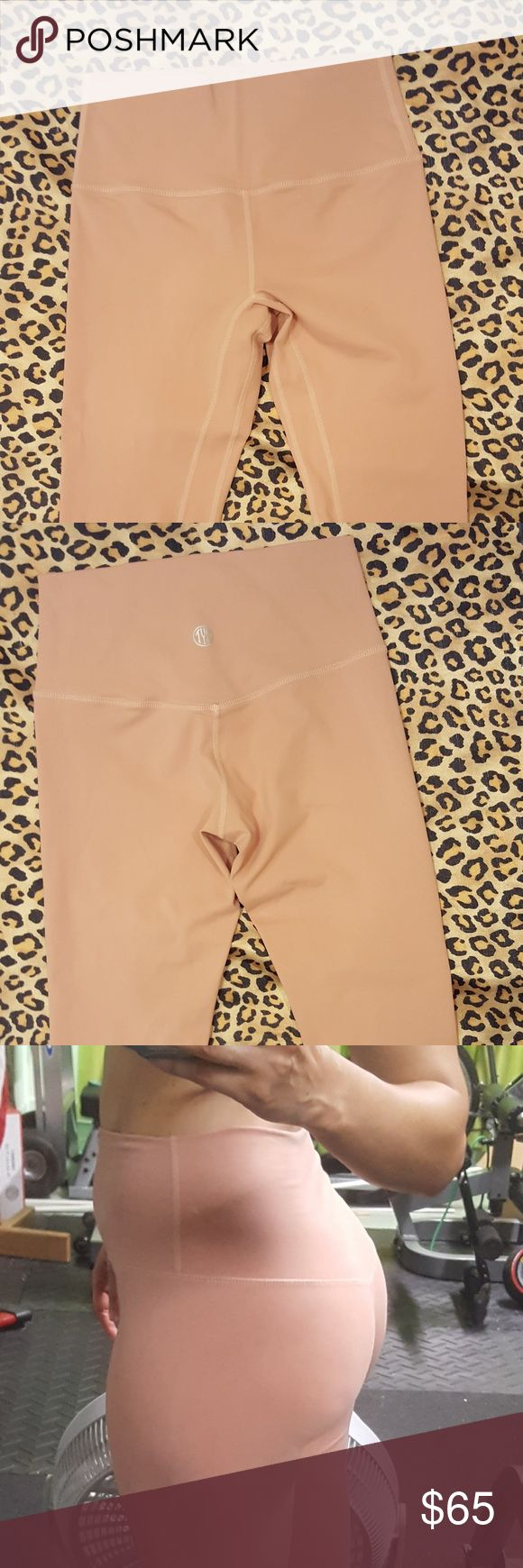Til you collapse Nude leggings Lululemon quality with half the price tag. Super soft, comfortable, second skin feeling. Seamless. Gorgeous color. High waisted. You'll love these. Pants Leggings