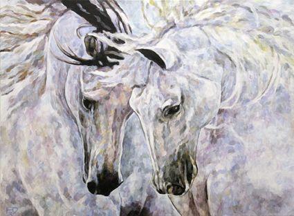 horse art pferde gemalt dream horse