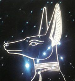 """Der Hund ist symbolisch mit Mond und Sonne verbunden und betrifft deren jeweils dunklen Aspekt. Der Mond wird als weibliche Hündin (""""canicula"""", Sirius, der Hundsstern oder Großer Hund, als """"Mondhündin""""), die Sonne als männlicher Hund gesehen. Das Lunare hat eher mit dem Unbewussten zu tun, und die """"Mondhündin"""" wäre die """"Matrix"""", die zur Belebung und Bewusstwerdung der relevanten, unbewussten Inhalte dient. Anubis (Ägypten) setze den zerstückelten Osiris wieder zusammen, ein Symbol der…"""