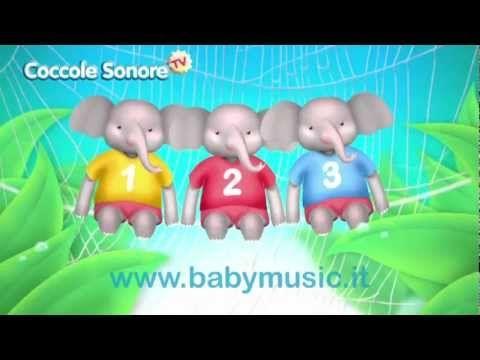 L'elefante si dondolava - Canzoni per bambini di Coccole Sonore - YouTube