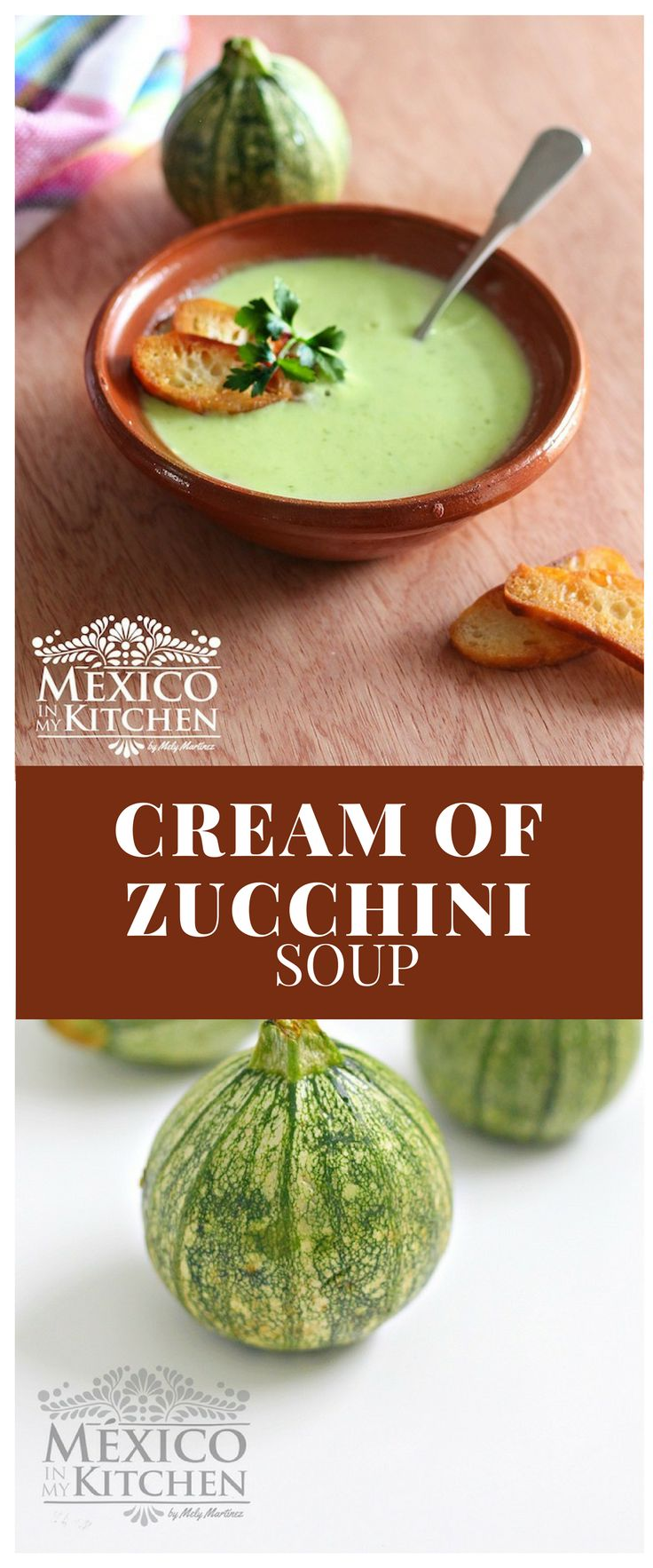 This recipe allows you to be creative in your cooking; you can add heavy cream if you want, corn kernels for garnish, or diced Mexican fresh cheese. #recipe #food #mexican #soups