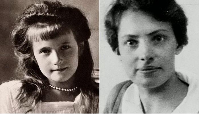 Анастасия Романова и самозванка Анна Андерсон