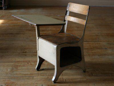 wood vintage restored seat in antique new folding desk sale oak school image student victor for