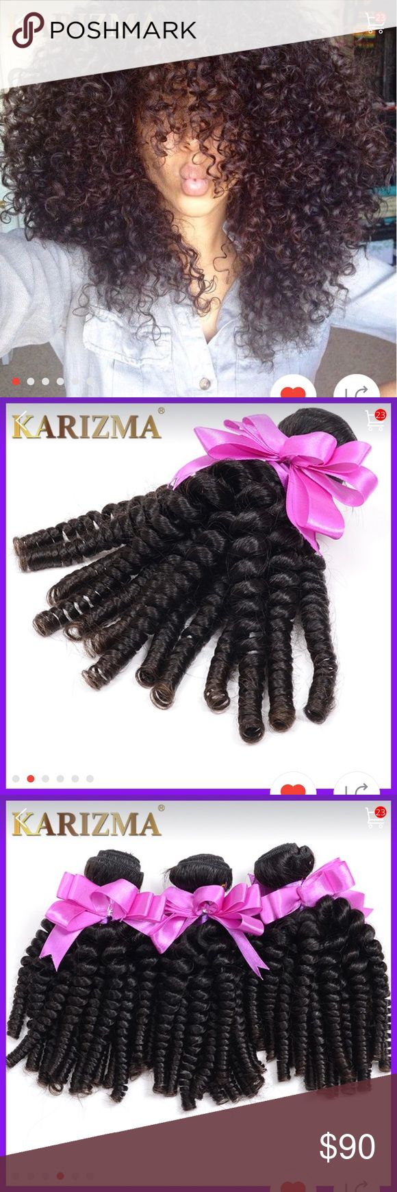 Brazilian Kinky Curly Virgin Hair 3 Bundles Afro Brazilian Kinky Curly Virgin…