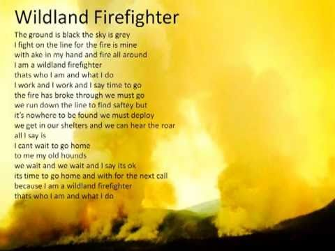 To All Wildland Firefighters And Hot Shot Crews Wildland