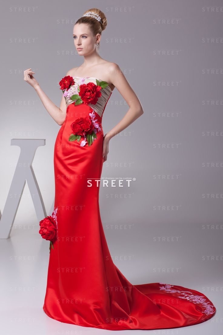 Cheap red holiday dress