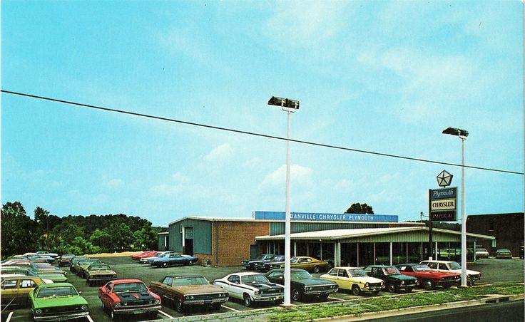 1970 danville chrysler plymouth dealership danville virginia vintage muscle cars pinterest