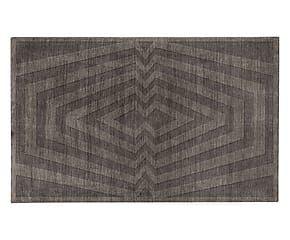 Tappeto in misto lana bikaner Forever antracite - 200x300 cm