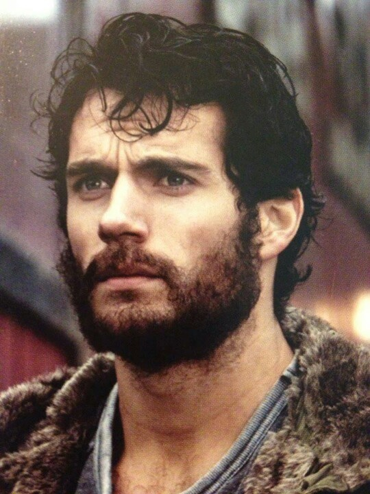 Henry Cavill BEARD Of STEEL Hotties Pinterest