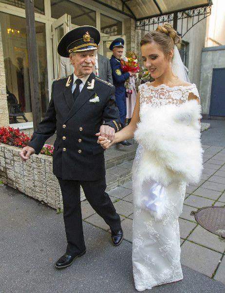 Иван Краско и его новая жена