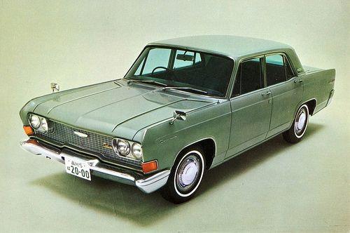 Mitsubishi Debonair DeLuxe Sedan, c. 1964