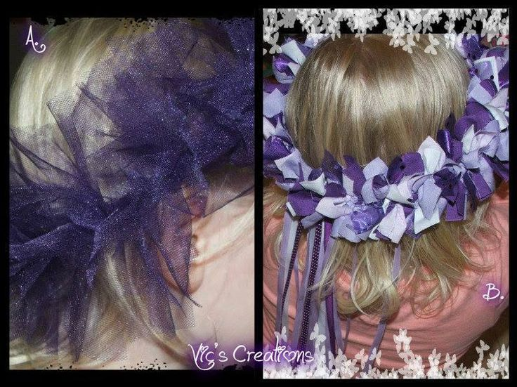 Handmade by Vic's Creations Fairy Halos, perfect for the little flowergirl at your wedding.