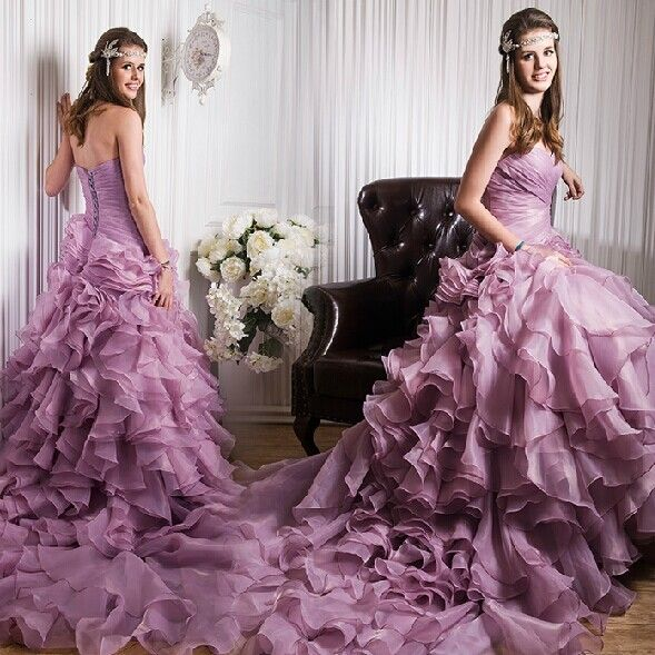 The 25 Best Lilac Wedding Dresses Ideas On Pinterest