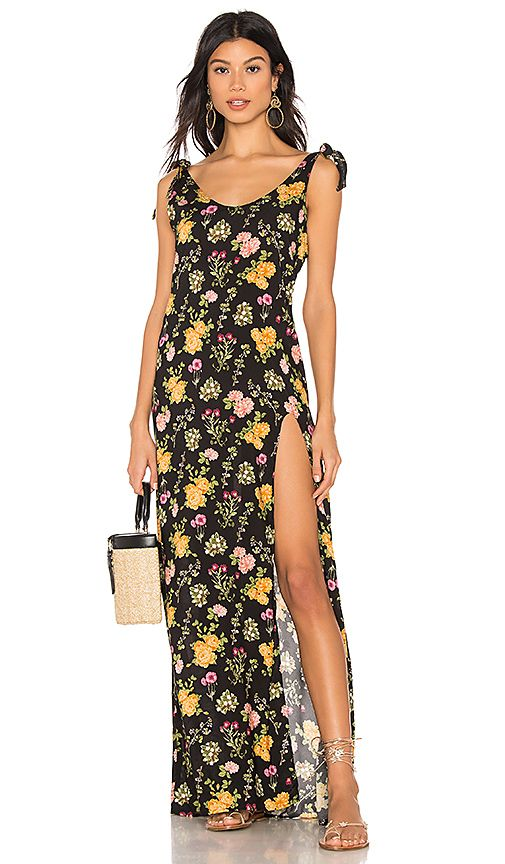 4d7322e6a3f0e Beach Bunny Lily Maxi Dress in Black | REVOLVE | Classy in 2019 ...