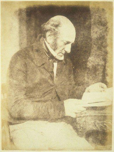 Robert Liston, photograph circa 1845 by Hill & Adamson