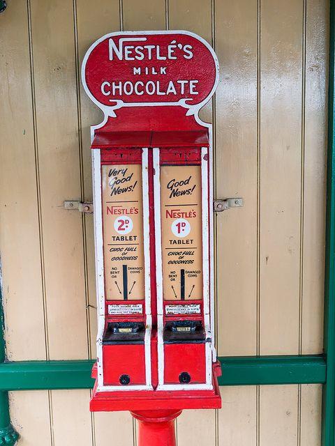 Nestle vending machine