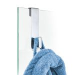 Crochet pour vitre de douche en verre poli AREO | Blomus Onlineshop