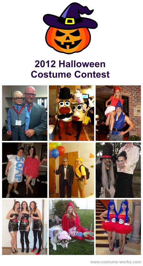 2012 Halloween Costume Contest, homemade adult costumes