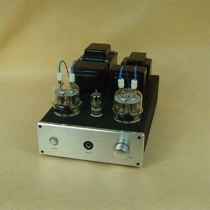 Finished 6n2 + Fu32 vacuum tube amplifier / Single-ended tube Power amp (110V or 220V version available) #Affiliate