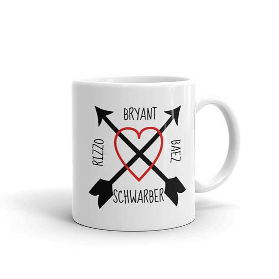 Chicago Baseball - Gift for Chicagoan - Chicago Illinois - World series Champions Keepsake - World Series Champs Chicago - Bryant Rizzo Baez -Chicago Mug - Chicago Coffee mug