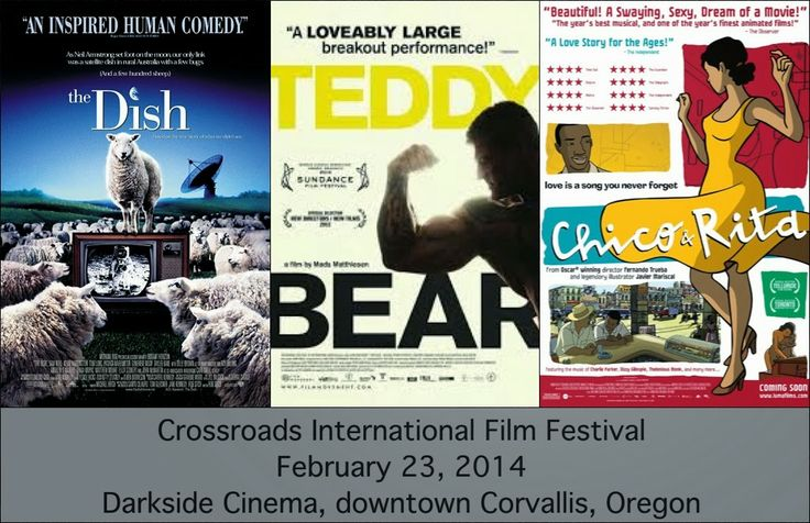 The 2014 Crossroads International Film Festival closes for the year February 23 at the Darkside Cinema in Corvallis, Oregon.