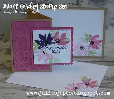 Julie Kettlewell - Stampin Up UK Independent Demonstrator - Order products 24/7: Avant Garden Stamp Set