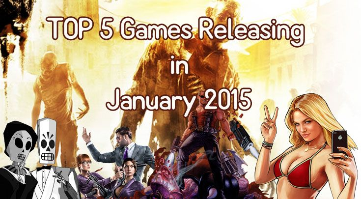 Top 5 most anticipated video games releasing in January 2015 for the PC, PS3, Xbox 360, PS4 and Xbox One.