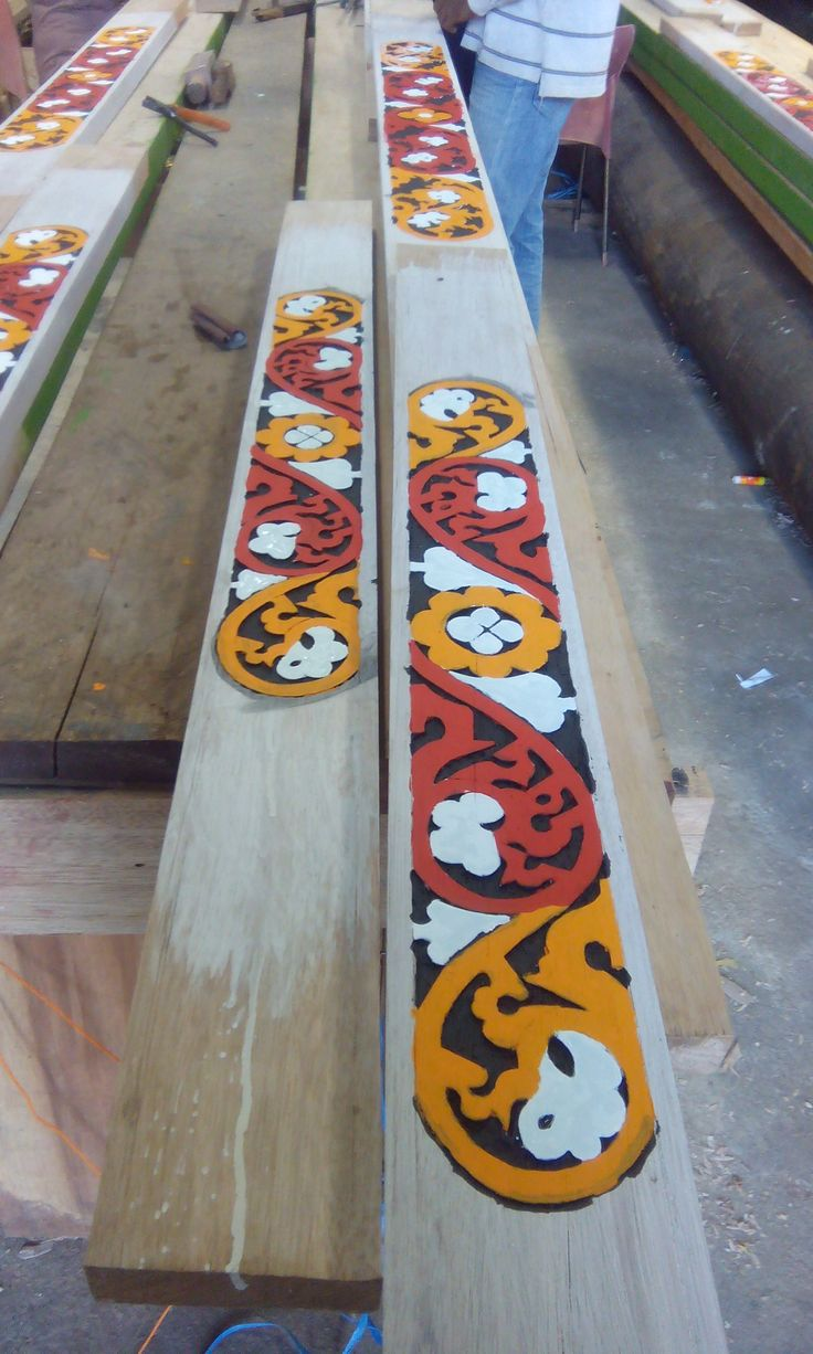 Karo ornamen Maker... Upaya plestarian ornamen khas karo