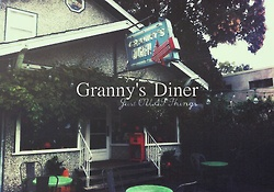 Granny's diner. - Just OUAT things