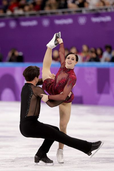 DAY 3: Figure Skating Team Event - Tessa Virtue and Scott Moir of Canada