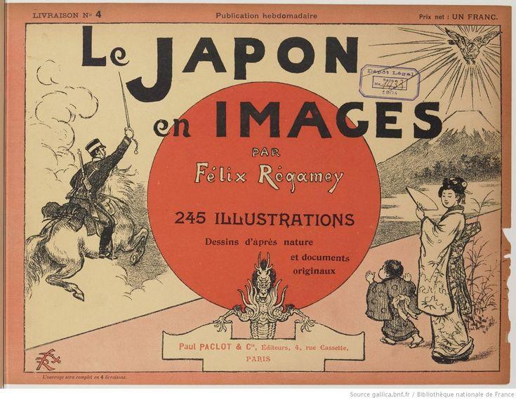 Le Japon en images : [impression photomécanique] : 245 illustrations, dessins d'après nature et documents originaux / par Félix Régamey | Gallica