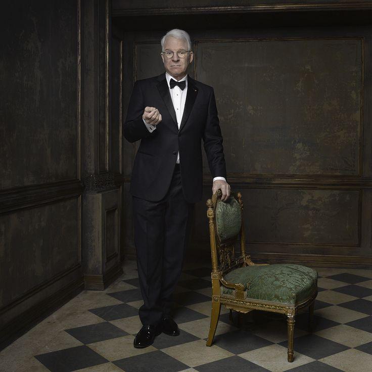 Steve Martin, portrait by Mark Seliger