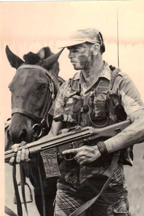 Grey's Scout of Rhodesian army
