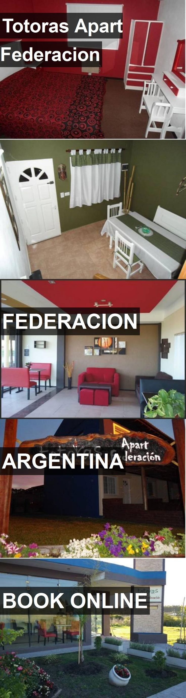 Hotel Totoras Apart Federacion in Federacion, Argentina. For more information, photos, reviews and best prices please follow the link. #Argentina #Federacion #travel #vacation #hotel