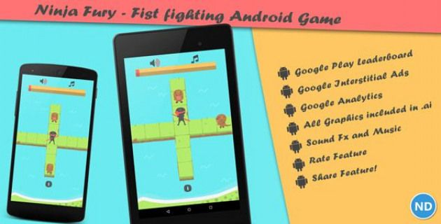Ninja Fury A Fist Fighting Android Game by neurondigital
