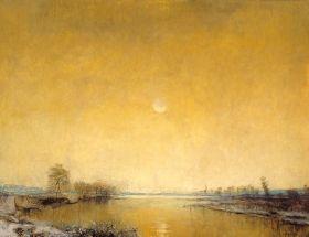 Mednyánszky László - Téli csend (változat), 1915 előtt