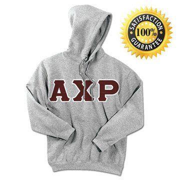 Alpha Chi Rho Standards Hooded Sweatshirt - $25.99 Gildan 18500 - TWILL